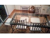 Dining room table + 6 chairs for sale