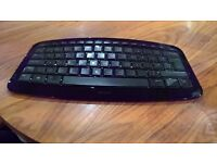 Black Microsoft Arc Keyboard