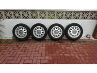 4 Audi 5 stud alloys