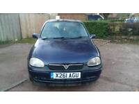 VAUXHALL CORSA 1.2 5 DOORS ** HPI CLEAR ** 2 KEYS ** ONE YEAR MOT **