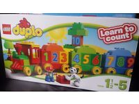 NEW Lego Duplo Learn to Count Train