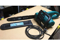 Bosch electric chainsaw with oil