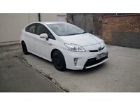 Toyota Prius Plus 2013 PCO Car Hire Uber Ready Rental for Taxi Mini Cab Rent for only £125 a week