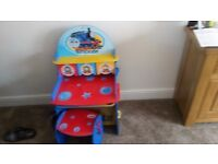 THOMAS THE TANK ENGINE DESK AND TOY BOX