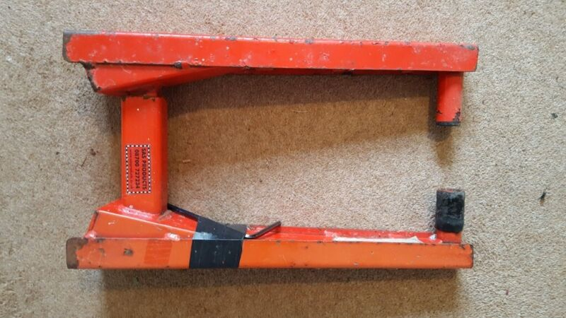 SAS SUPERCLAMP GOLD WHEEL CLAMP. for sale  Burgess Hill, West Sussex