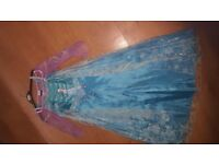 World Book Day Elsa dress age 7-8years