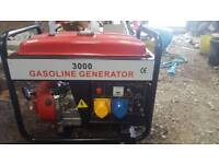 3000 gasoline generator