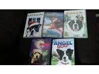 5 Childrens DVDs 50p each.