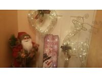 Assorted Large Christmas Decorations