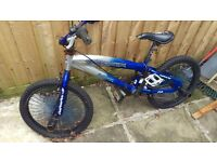 Bmx barracuda stunt bike