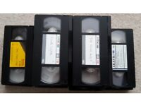 Lots of VHS Tapes - DELIVERY AVAILABLE