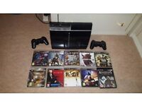 Ps3 plus 10 games and 2 remotes all work perfect