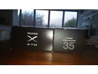 Fujifilm Fujinon XF35 mm F2 R WR lens - Black Excellent condition with both caps and box