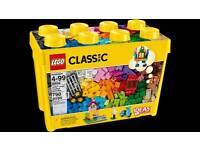 Lego 10698 classic creative brick box