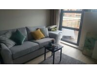 3 seater sofa from Next, like new, grey - open to offers on price