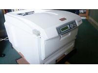 Oki C5750 Laser Printer & optional Genuine Toner: p/n 43872305, 43872306, 43872307 & 43872308