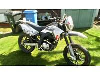 Sfm Zz125cc motorcycle