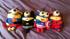 "MINION AVENGERS FOR SALE ,BRAND NEW, ABOUT 7"" HIGH,£2 EACH,COLLECT FROM S5, OR MAY DELIVER LOCAL."