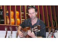 Guitar lessons in Salisbury and Wilton area classical, flamenco, rock.
