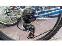 Ventura double suspension bike