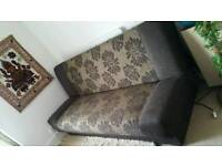 Bed sofa with storage