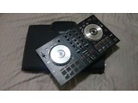 DDJ-SB Portable 2-channel controller with Carry Case (Black)