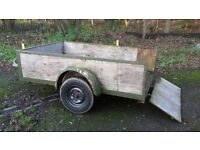 URGENT SALE........8ft x 5ft box trailer........URGENT SALE