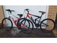 Bike x 2 for sale (his & hers), hardly used, would sell seperately