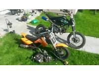 Pit bikes X 2 spares or repair