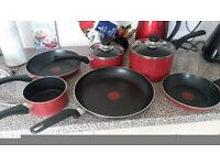 Tefal pan set excellent condition