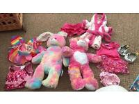 Build a bear and build a bunny bundle