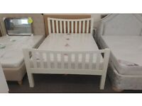 Julian Bowen Madison Curved Double Bed (BED ONLY) Can Deliver