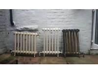 Cast iron column radiators