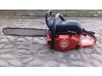 Dolmar PS6100 Chainsaw and Electric Chain Sharpener