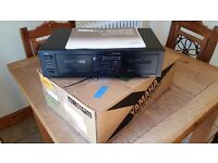 Yamaha KX-W332 Natuaral Sound Stereo Double Cassette Deck 1990 - 1992