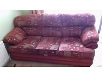 3 SEATER SOFA FREE DELIVERY IN COVENTRY