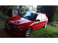 MG ZR+ 2.0 litre turbo diesel (TDI) 5 door red (similar to Rover 25) Sept 03 plate - open to offers