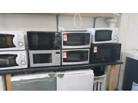 Brand New Microwaves with manufacturer's warranty from only £25