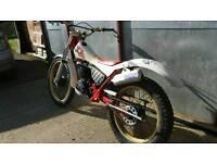 Yamaha ty 250 trials bike