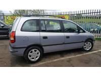 Vauxhall zafira 7 seater diesel 1 keeper