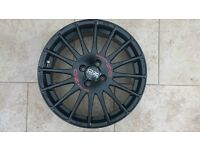 NEW OZ RACING SUPERTOURISMO GT BLACK 4X100 17IN ALLOY WHEEL Mini Fiat VW Renault