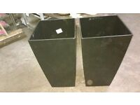 Big selection of used garden/interior planters
