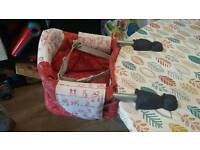 Chicco clip on highchair