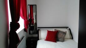 Furnished One bed ground floor unit, living room, kitchen, shower room & courtyard - self contained