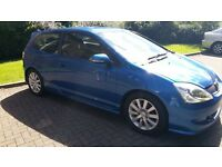 Honda Civic Sport 3dr hatch,service history,Type R interior,long mot