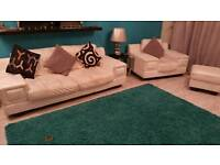 DFS Leather Sofa Suite