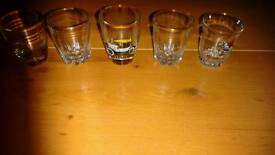 4 shot glasses without box