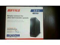External HDD 2TB