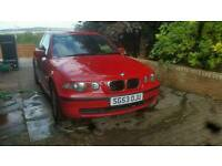 BMW 316TI 2004 LOW MILES 80K