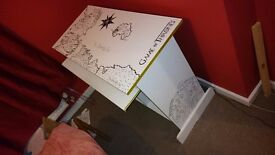 Game of Thrones desk (hand-painted)